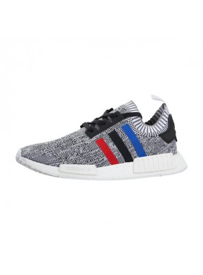 Adidas NMD r1 Primeknit Tricolor Black Runner couple running shoes BB2888