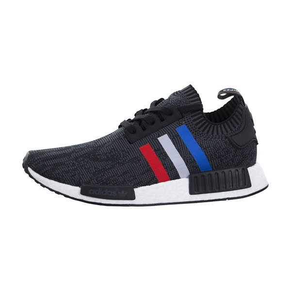 99b2955c8b69d Adidas NMD r1 Primeknit Tricolor Black Runner couple running shoes BB2887
