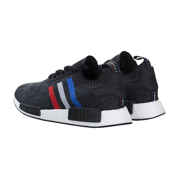 Adidas NMD r1 Primeknit Tricolor Black Runner couple running shoes BB2887