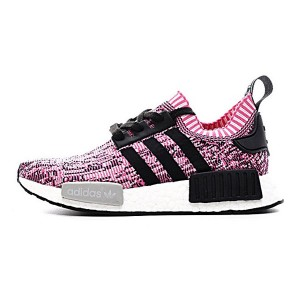 New Color Adidas NMD R1 Primeknit Pink Rose women's running shoes BB2363