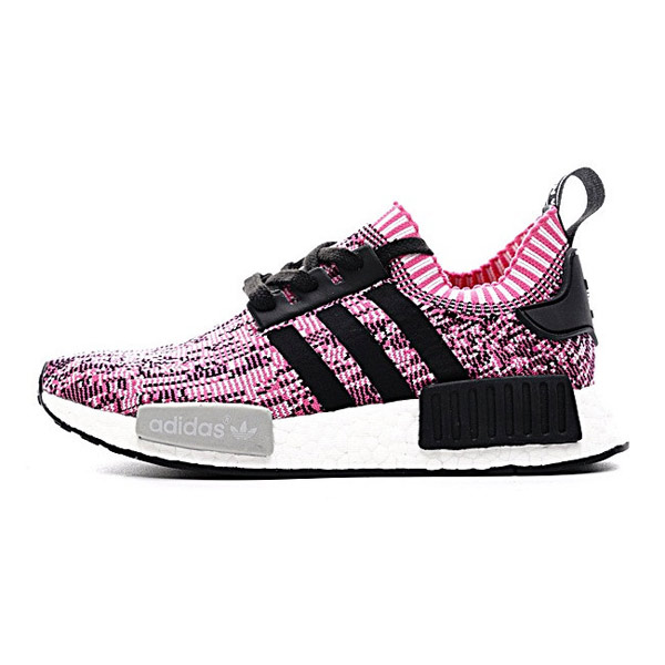 a2f3d2dc8 New Color Adidas NMD R1 Primeknit Pink Rose women's running shoes BB2363