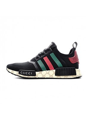 20bf8fbedfe6c New Adidas nmd boost x Gucci runner limited edition running shoes S675001
