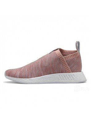 KITH x NAKED x Adidas Consortium NMD CS2 sneakers pink socks shoes BY2596