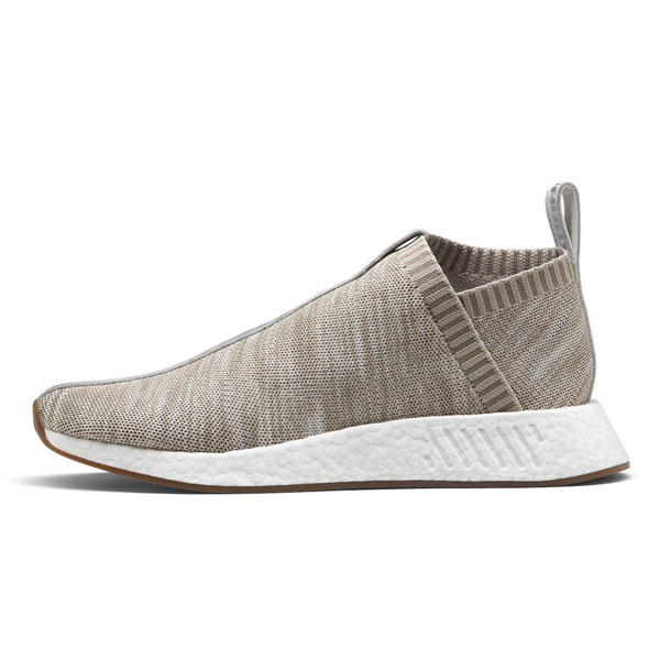 KITH x NAKED x Adidas Consortium NMD CS2 sneakers sandst socks shoes BY2597