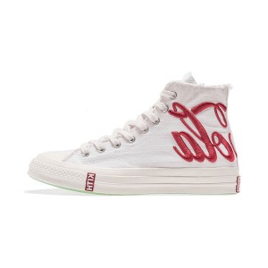 KITH x Coca-Cola x Converse Chuck Taylor All Star 70s high tops sneakers white red