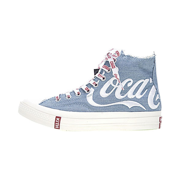 2f4fe8b9368326 KITH x Coca-Cola x Converse Chuck Taylor All Star 70s high tops shoes blue  white