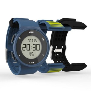 Decathlon digital sports watch GEONAUTE waterproof electronic watch set blue
