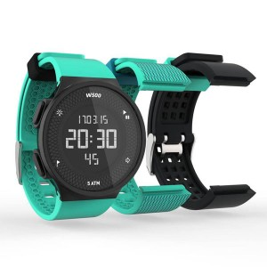 Decathlon digital sports watch GEONAUTE waterproof electronic watch set green