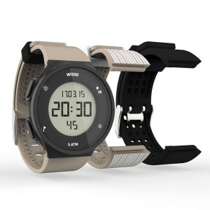Decathlon digital sports watch GEONAUTE waterproof electronic watch set coffee