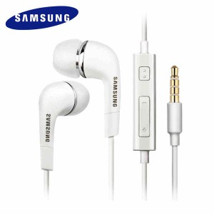 SAMSUNG Earphone EHS64 Headsets Wired With Microphone for Galaxy S3 S6 S8