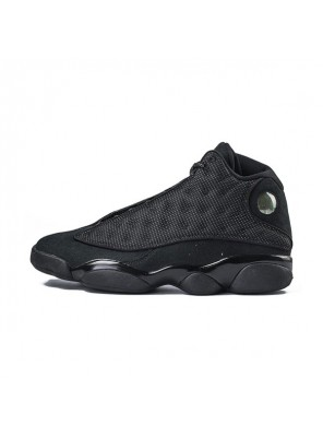 Air Jordan 13 black cat sneakers cheap men's basketball shoes core black