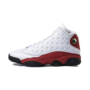 Air Jordan 13 OG Chicago sneakers classic men's basketball shoes white red
