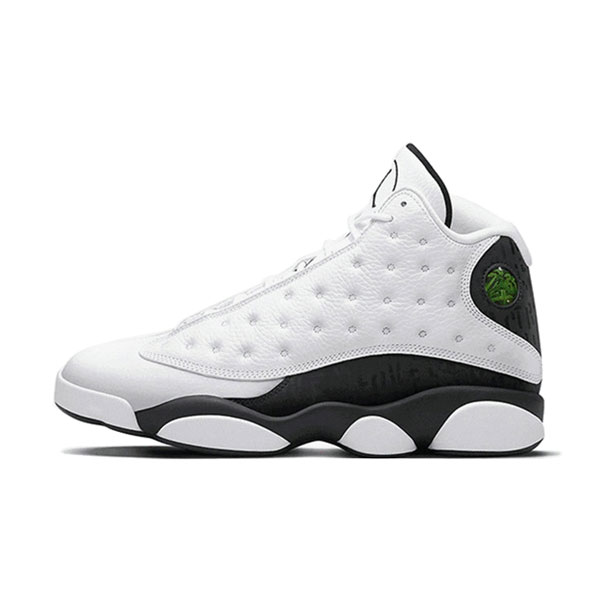 New Air Jordan 13 Retro Love & Respect men's basketball shoes white black