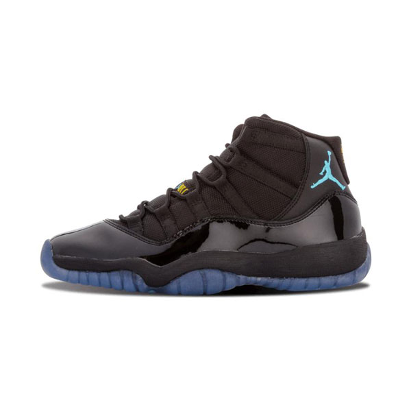 Limited Air Jordan 11 Retro Gamma blue sneaker men's basketball shoes black