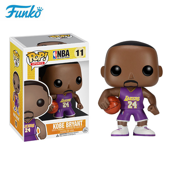 Funko Pop NBA Series 3 Kobe Bryant Lakers dolls popular collection toys