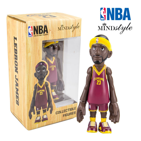 MINDstyle NBA Cleveland Cavaliers LeBron James 23# model dolls by coolrain
