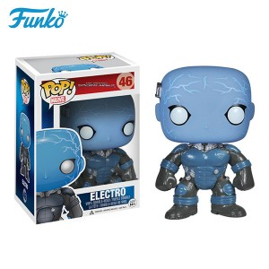 Original funko pop marvel Spider-Man 2 electro toys global best-selling dolls