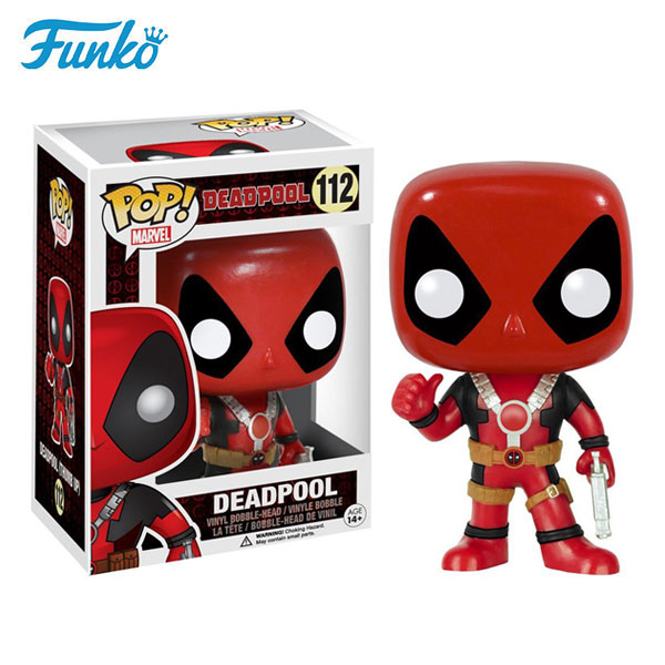 Funko pop marvel X-Men pistol deadpool toys cheap popular collection dolls