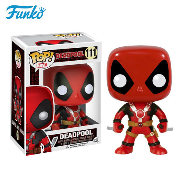 Funko pop marvel X-Men knife deadpool toys cheap popular collection dolls