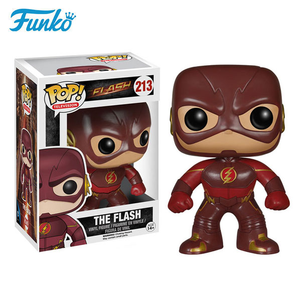 Funko pop television DC The Flash vinyl figure toys global popular model dolls