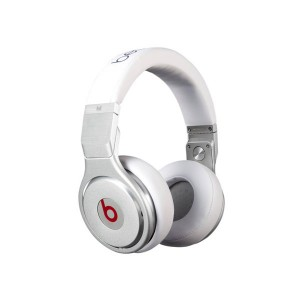 Monster Beats studio pro professional edition over-ear headphones white