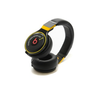 Monster beats pro headphones tough tims neverlast DR.ZED black yellow