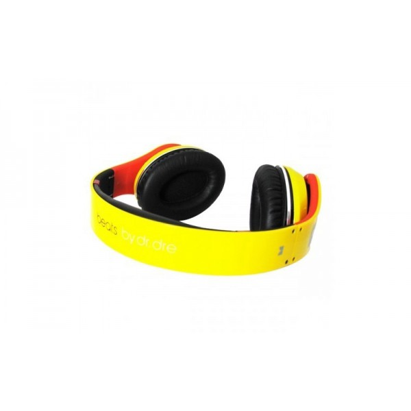 Limited Monster Lamborghini Beats by Dre Studio Headphones red yellow