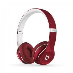 Buy Deluxe Edition Beats by Dr.Dre Solo2 On-Ear headphones fashion red