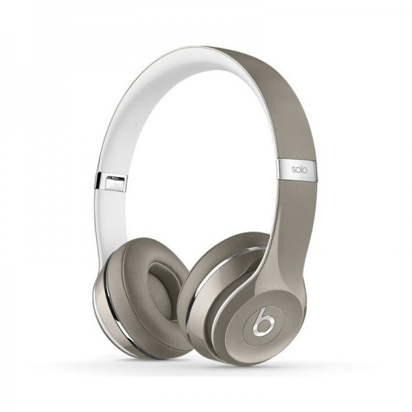 Cheap Deluxe Edition Beats by Dr.Dre Solo2 On-Ear headphones magic sliver