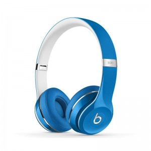 Cheap Deluxe Edition Beats by Dr.Dre Solo2 On-Ear headphones cool blue