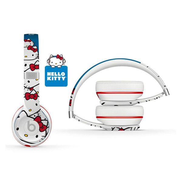Cheap limited special edition beats solo2 hello kitty On-Ear headphones