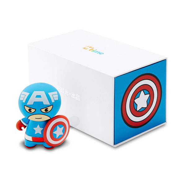 MARVEL Captain America cartoon mini portable mobile power for apple/android