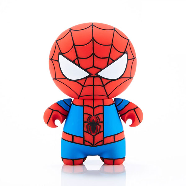 MARVEL Hero Spider-Man cartoon mini portable mobile power for apple/android