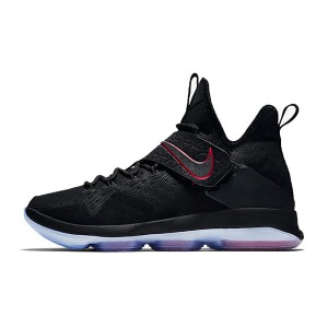 Nike LeBron 14 xiv ep sneakers classic men's basketball shoes black red