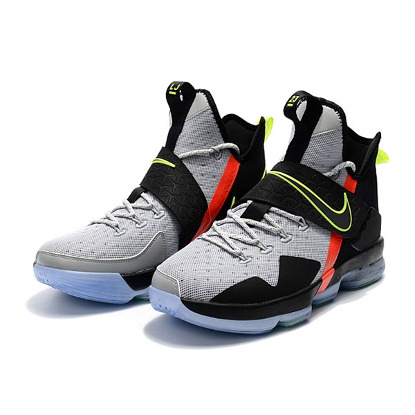 Nike LeBron 14 xiv ep christmas day sneakers men's basketball shoes grey