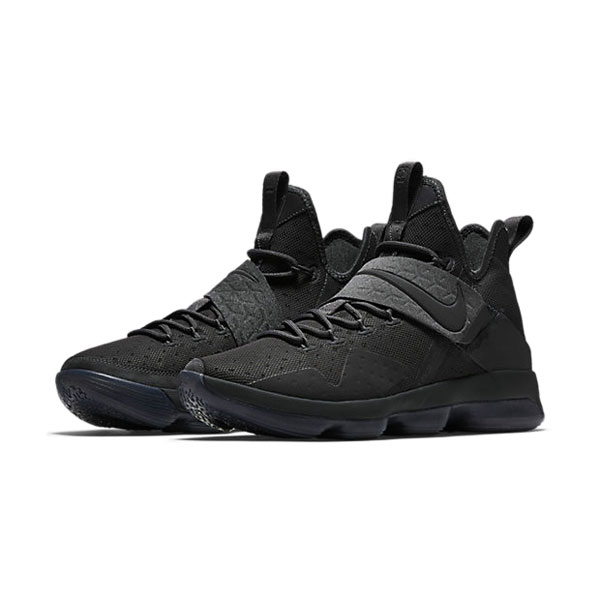 Nike LeBron 14 xiv ep James sneakers men's basketball shoes triple black