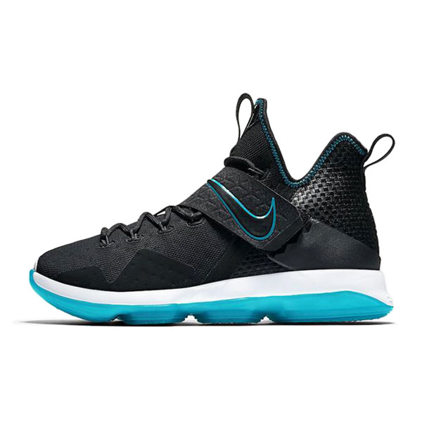 Nike LeBron 14 xiv prm ep red carpet men's basketball shoes black blue