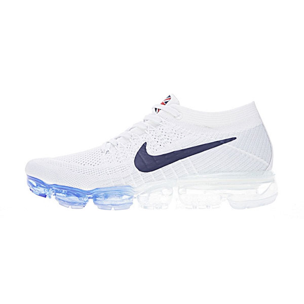 New Limited Nike Air VaporMax Flyknit Country Pack UK running shoes wihte