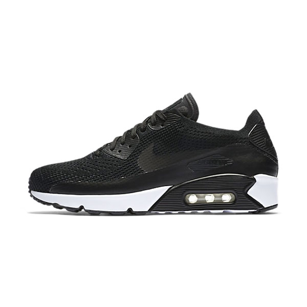 Nike Air Max 90 Ultra 2.0 Flyknit sneakers men's running shoes black white
