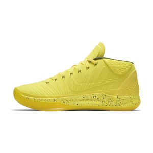 Nike Kobe A.D. Mid colorway optimism sneakers men's basketball shoes yellow