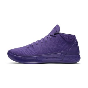 Nike Kobe A.D. Mid colorway fearless sneakers men's basketball shoes purple