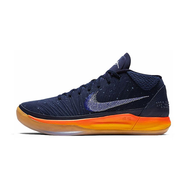 Nike Kobe A.D Mid mamba mentality rise men's basketball shoes blue orange