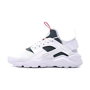 Gucci x Nike Air Huarache Ultra Flyknit ID retro running shoes white green