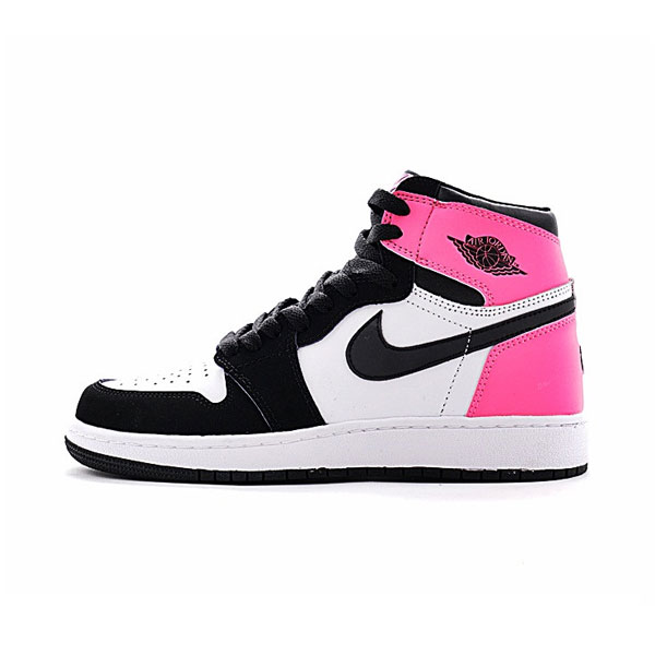Air Jordan 1 GS OG High Valentines Day women's basketball shoes hyper pink