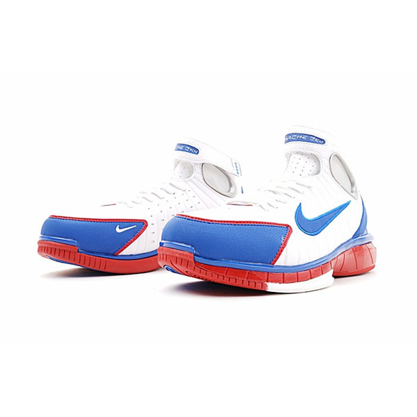 Nike Air Zoom Huarache 2K4 All Star Retro Kobe basketball shoes white royal