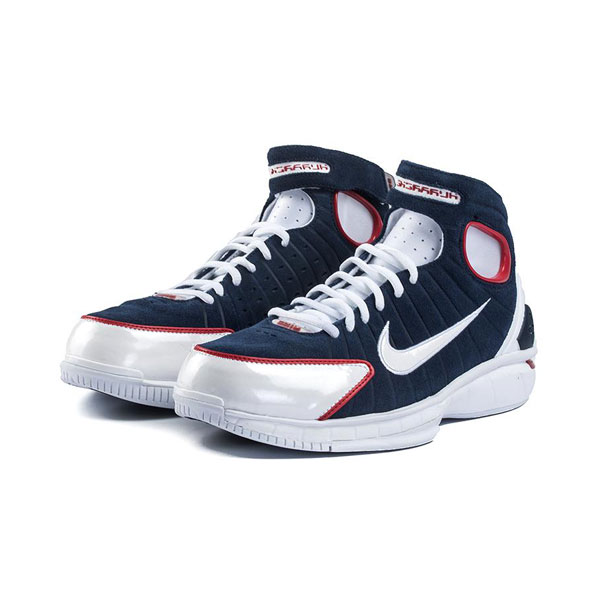 Nike Air Zoom Huarache 2K4 USA All Star men's basketball shoes midnight navy