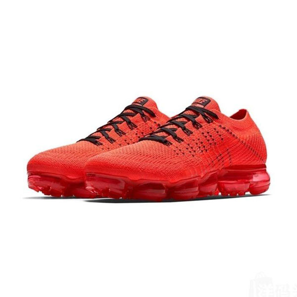 Limited Clot x Nike Air VaporMax  flyknit Collaboration running shoes core red