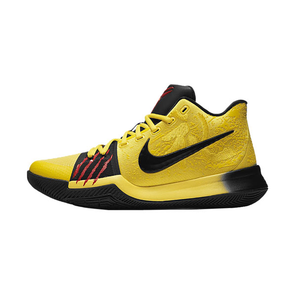 Nike Kyrie 3 mamba mentality Bruce Lee sneakers Irving basketball shoes yellow