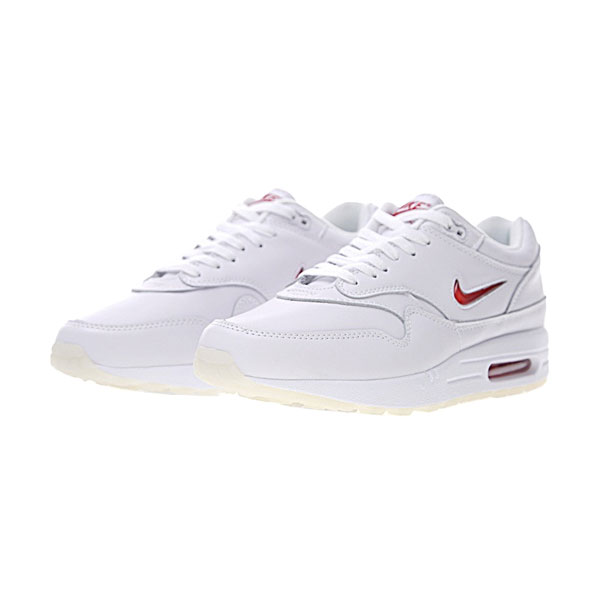 Nike Sportswear Air Max 1 Premium SC Jewel men & women running shoes white red