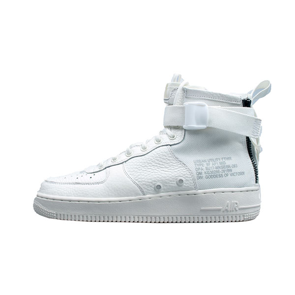 New Nike SF Air Force 1 Mid Triple Ivory sneakers men's sports shoes core white